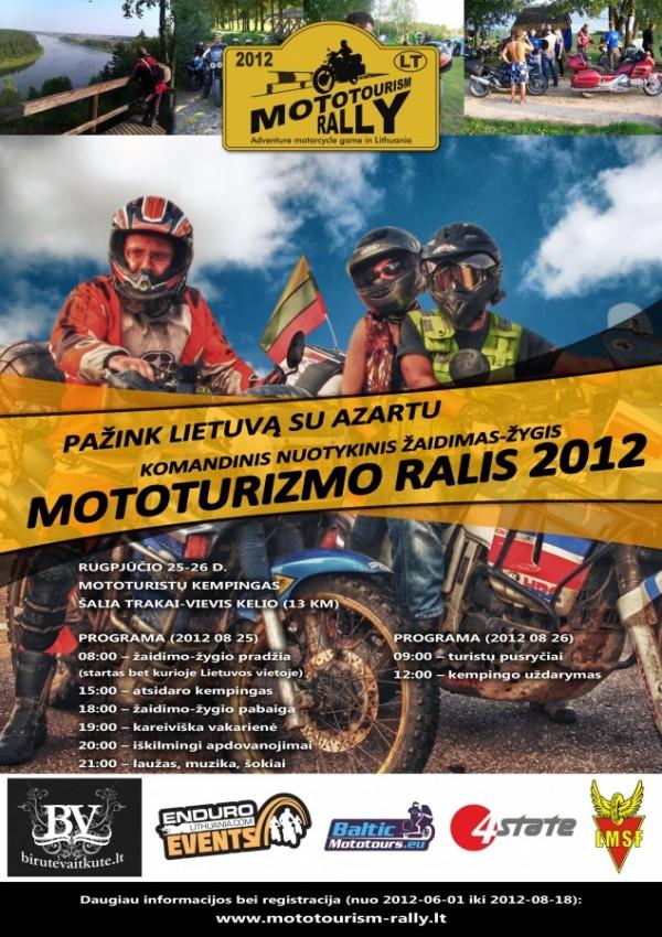 Mototurizmo ralis 2012
