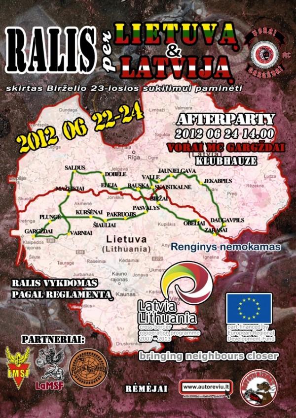 Ralis per Lietuvą ir Latviją